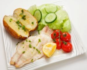 диетические рецепты, рыба, баллы, калории, ккал, жир