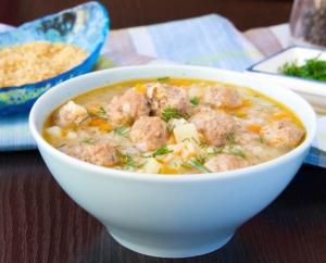 диетические рецепты, суп, страчателла, баллы, калории, ккал, жир